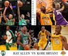 Final da NBA 2009-10, Ala-armador, Ray Allen (Celtics) vs Kobe Bryant (Lakers)