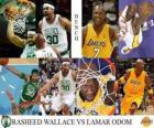 Final da NBA 2009-10, Reservas, Rasheed Wallace Celtics () vs Lamar Odom (Lakers)