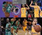 Finais da NBA 2009-10, Jogo 1, Boston Celtics 89 - Los Angeles Lakers 102