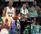 Final da NBA 2009-10, segundo jogo, o Boston Celtics 94 - Los Angeles Lakers 103