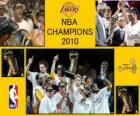 Campeões da NBA 2010 - Los Angeles Lakers -