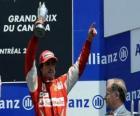Fernando Alonso - Ferrari - Montreal, 2010 (terceiro classificado)