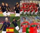 Espanha - Portugal, oitava final, África do Sul 2010