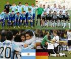 Argentina - Deutschland, quartas, África do Sul 2010
