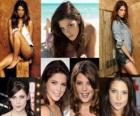 Ashley Greene conhecida por seu papel como Alice Cullen na saga Crepúsculo.