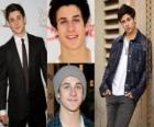 David Henrie é mais conhecido por interpretar Larry em That's So Raven e Justin Russo em Feiticeiros de Waverly Place.