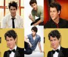 Nick Jonas ator e cantor dos Estados Unidos