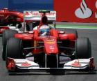 Fernando Alonso - Ferrari - Valência 2010