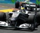 Nico Rosberg - Mercedes - Valência 2010