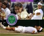 Campeão de Wimbledon 2010 Rafael Nadal
