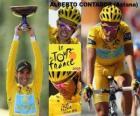 Alberto Contador campeão o Tour de France 2009