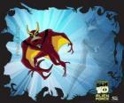 Arraia-A-Jato  ou Jet Ray é um alienígena aerofibio capaz de voar e nadar mais rápido que a velocidade do som