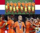 Holanda, 2 º lugar no Campeonato Mundial de Futebol 2010 na África do Sul