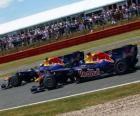 Mark Webber e Sebastian Bull - Vettel Red - Silverstone 2010