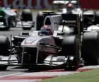 Kamui Kobayashi Sauber - Silverstone 2010