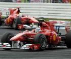 Fernando Alonso, Felipe Massa, Hockenheim, Grande Prêmio da Alemanha (2010)