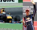 Sebastian Vettel - Red Bull - Hockenheim, Grande Prêmio da Alemanha (2010) (3 classificados)