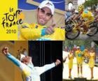 Alberto Contador campeão o Tour de France 2010