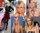 Paris Hilton é um famoso, autora, modelo, atriz, designer e cantora.