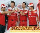29 º Aniversário de Fernando Alonso no Grande Prêmio da Hungria 2010