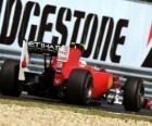 Fernando Alonso - Ferrari - Hungaroring, do Grande Prémio da Hungria 2010