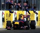 Mark Webber - Red Bull - Hungaroring, do Grande Prémio da Hungria 2010