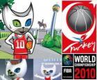 Bascat mascote do Basquete Campeonato Mundial da Turquia 2010