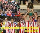 Atlético de Madrid, Supercopa 2010