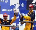 Robert Kubica - Renault - Spa-Francorchamps, na Bélgica Grand Prix 2010 (terceiro classificado)