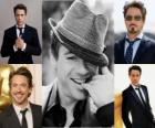 Robert Downey Jr. é um ator duas vezes indicado ao Oscar e vencedor de dois Globos de Ouro, bem como um cantor e compositor.