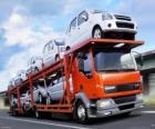 Caminhão de transporte de carros