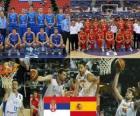 Sérvia - Espanha, um quarto para o final, FIBA World Championship 2010 Turquia