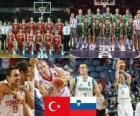 Turquia - Eslovénia, do quarto até final de 2010 FIBA World Championship na Turquia