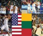 Estados Unidos - a Lituânia, a semi-final de 2010, Campeonato Mundial da Turquia