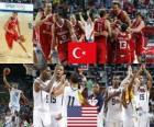 Turquia contra os Estados Unidos, Final, do Campeonato do Mundo de 2010 FIBA na Turquia