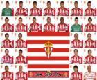 Plantel de Real Sporting de Gijón 2010-11