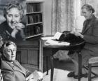 Agatha Christie (1890 - 1976) foi um escritor britânico de romances policiais.