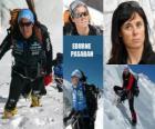 Edurne Pasabán é um montanhista espanhol ea primeira mulher na história a subir para os 14 oito mil (montanhas com mais de 8000 metros) do planeta.