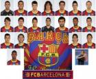 Plantel de Futbol Club Barcelona 2010-11
