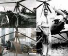 Juan de la Cierva y Codorniu (1895 - 1936) inventou o autogiro, precursor da unidade hoje de helicóptero.