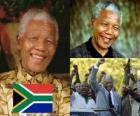 Nelson Mandela, em seu país, conhecido como Madiba, foi o primeiro presidente democraticamente eleito do Sul Africano por sufrágio universal.
