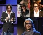 Johnny Depp é um ator americano.