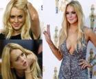 Lindsay Lohan é uma atriz, modelo e cantor, um americano.