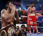 Manny Pacquiao também conhecida como Pac-Man, é um pugilista profissional filipino.