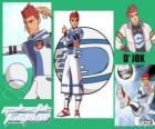 D'jok é o craque do equipe Snow Kids, tem o número 9