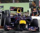 Mark Webber - Red Bull - Singapore 2010 (3 º lugar)