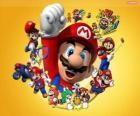 Mario o famoso encanador no mundo da Nintendo. Mario Bros