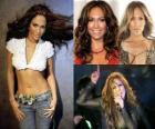 Jennifer Lopez é uma atriz, cantora, dançarina, estilista e EUA