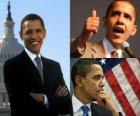 Barack Obama o primeiro presidente negro ocupar o posto dos Estados Unidos da América