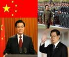 Hu Jintao secretário-geral do Partido Comunista Chinês e presidente da República Popular da China